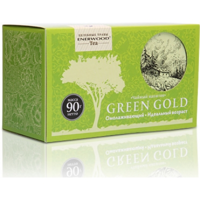 Green Gold Enerwood Tea